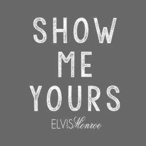 SHOW ME YOURS - Premium S/S T-shirt - Charcoal Heather Gray Design