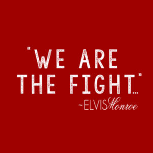 WE ARE THE FIGHT - Premium S/S T-shirt - Red Design