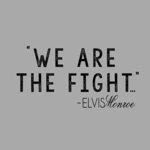 WE ARE THE FIGHT - Premium S/S T-shirt - Light Heather Gray Design