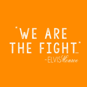 WE ARE THE FIGHT - Premium S/S T-shirt - Burnt Orange Design