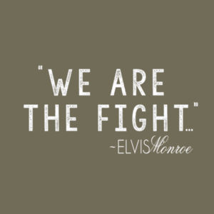 WE ARE THE FIGHT - Premium S/S T-shirt - Military Green Design