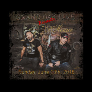GRAND OAK LIVE - Premium S/S T-shirt - Black Design