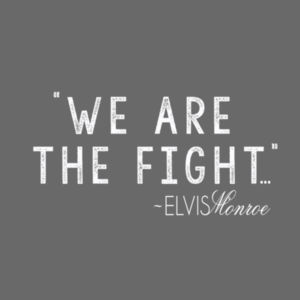 WE ARE THE FIGHT - Premium S/S T-shirt - Charcoal Heather Gray Design