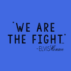 WE ARE THE FIGHT - Premium S/S T-shirt - Royal Heather Design