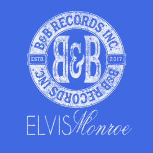B&B RECORDS - S/S PREMIUM TEE - ROYAL BLUE Design