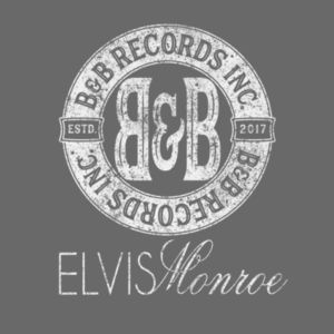 B&B RECORDS - S/S PREMIUM TEE - CHARCOAL HEATHER Design