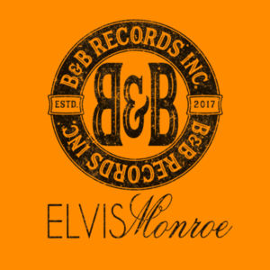 B&B RECORDS - S/S PREMIUM TEE - BURNT ORANGE Design