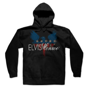 PATRIOT EAGLE - Premium Pullover Hoodie - Black Thumbnail