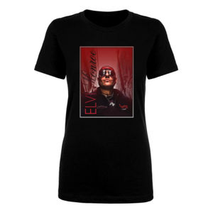 STREET BRYAN - Women's Short Sleeve Crew Neck T-shirt - Black Thumbnail