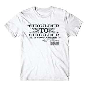 SHOULDER TO SHOULDER - Premium S/S T-shirt - White Thumbnail