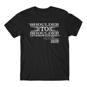 SHOULDER TO SHOULDER - Premium S/S T-shirt - Black Thumbnail