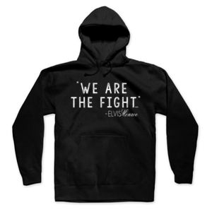 WE ARE THE FIGHT - Premium Pullover Hoodie - Black Thumbnail