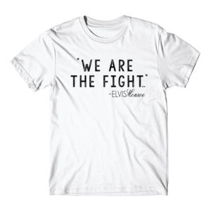 WE ARE THE FIGHT - Premium S/S T-shirt - White Thumbnail