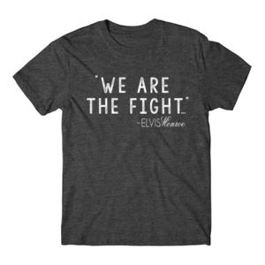 WE ARE THE FIGHT - Premium S/S T-shirt - Charcoal Heather Gray Thumbnail