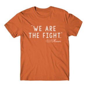 WE ARE THE FIGHT - Premium S/S T-shirt - Burnt Orange Thumbnail