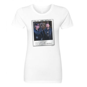 M RESORT LIVE - Women's Short Sleeve Crew Neck T-shirt - White Thumbnail