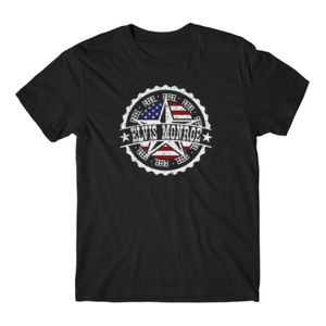RETRO LOGO FLAG - Premium S/S T-shirt - Black Thumbnail