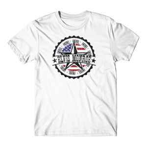RETRO LOGO FLAG - Premium S/S T-shirt - White Thumbnail