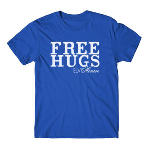 FREE HUGS - S/S PREMIUM TEE - ROYAL BLUE Thumbnail