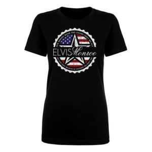 ***NEW*** EMBLEM LOGO W/ LYRICS - WOMEN'S S/S PREMIUM TEE - BLACK Thumbnail