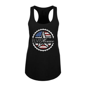 ***NEW*** EMBLEM LOGO (SIMPLE, NO LYRICS) - WOMEN'S PREMIUM RACERBACK TANK - BLACK Thumbnail