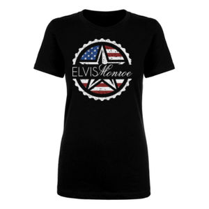 ***NEW*** EMBLEM LOGO (SIMPLE, NO LYRICS) - WOMEN'S PREMIUM S/S TEE - BLACK Thumbnail