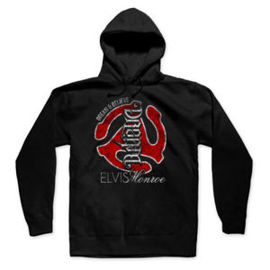DREAM BELIEVE OLD SCHOOL RED - UNISEX PREMIUM PULLOVER HOODIE - BLACK Thumbnail