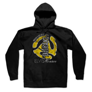 DREAM BELIEVE OLD SCHOOL YELLOW - UNISEX PREMIUM PULLOVER HOODIE - BLACK Thumbnail