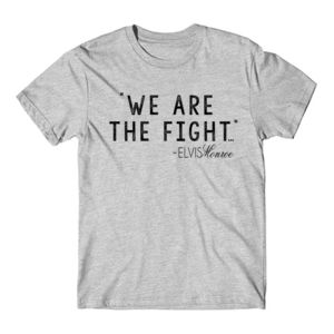 WE ARE THE FIGHT - Premium S/S T-shirt - Light Heather Gray Thumbnail