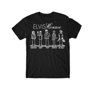 STICK FIGURES FULL BAND - YOUYTH PREMIUM S/S TEE - BLACK Thumbnail