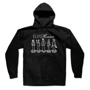 STICK FIGURES FULL BAND - PREMIUM PULLOVER HOODIE - BLACK Thumbnail